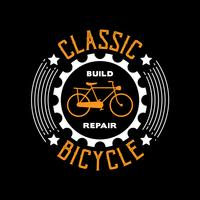Citação de bicicleta e dizendo bom para impressão
