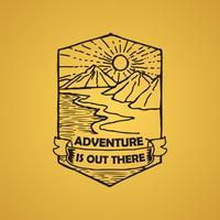 Citação de aventura e dizendo bom para impressão
