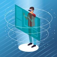 Pessoas brincando com realidade virtual