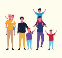 avatar do grupo familiar