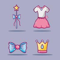 set ballet accesories decoração design