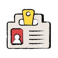 mensagem de estratégia de informação de documento comercial
