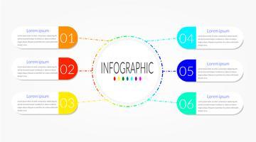 Cronogramas de negócios infográfico vetor
