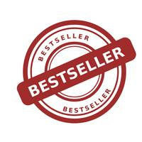 vetor de best-seller de carimbo