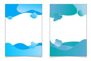 banner gradiente abstrata vetor
