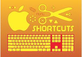 Gráficos de teclado vetor