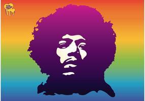 Jimi Hendrix vetor