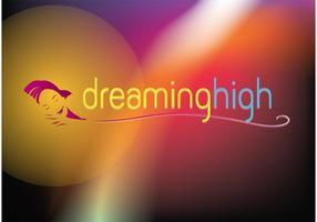 Logotipo de sonho vetor