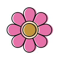 ícone de flor bonita