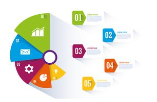 Gráfico e infográfico design vetor