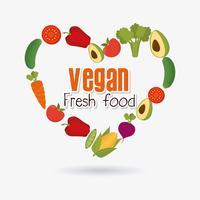 Projeto de comida vegan.