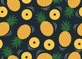 Padrão de abacaxi vetor
