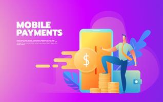 Processamento de pagamentos móveis
