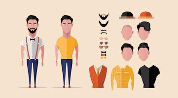 Personagens intercambiáveis