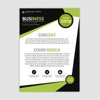 Modelo de Brochura - negócio vetor