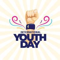 Jornada Internacional da Juventude vetor