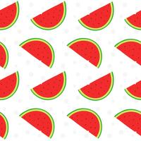 Padrão de fruta melancia vetor