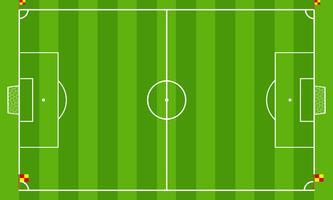 Campo de futebol vetor