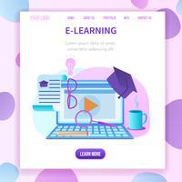 Banner quadrado, janela de Webinar de laptop de espaço de cópia