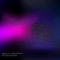 vetor de ilustração de onda sonora