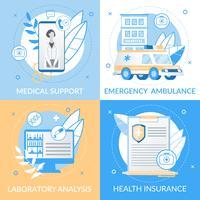 Folheto de suporte médico informativo