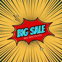Modelo de promoção de venda abstrata