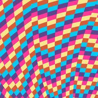 Fundo colorido padrão