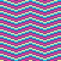 Ilusão de ótica fundo geométrico