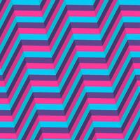 Ilusão de ótica azul e fundo roxo