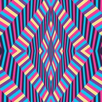Ilusão de ótica fundo colorido
