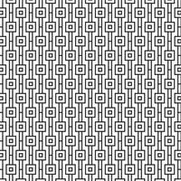 Modern Geometric Seamless Pattern com quadrados vetor
