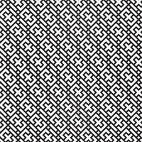 Modern Geometric Seamless Pattern com símbolos mais vetor