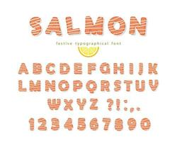 Fonte de salmão
