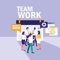 Reunião de trabalho em equipe