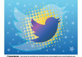 Novo logotipo do Twitter vetor
