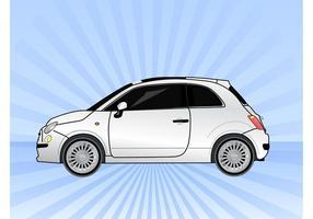 Vector de carro Fiat