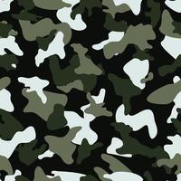 Padrão de cor perfeita de camuflagem vetor