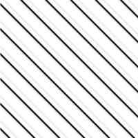 Teste padrão preto e branco das listras vetor