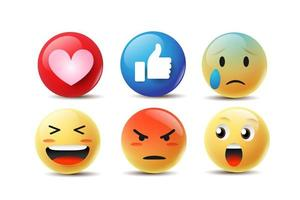 Emoji Sentimentos Faces