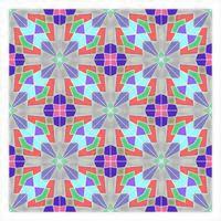 Padrão sem emenda geométrico de azulejos