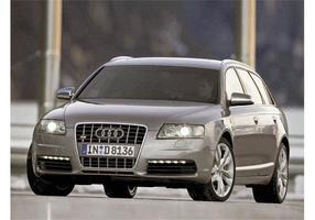 Prata Audi S6 vetor