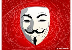 Vetor Guy Fawkes