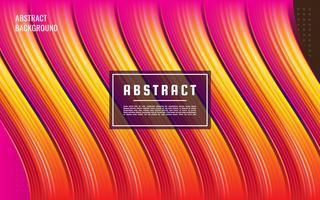 Vetor de líquido gradiente rosa 3d abstrato rosa, textura abstrata fluxo de fluido rosa