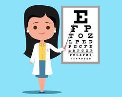 Médico oftalmologista