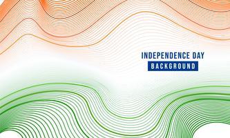 ilustração festiva do dia da independência na celebração da Índia em 15 de agosto vetor