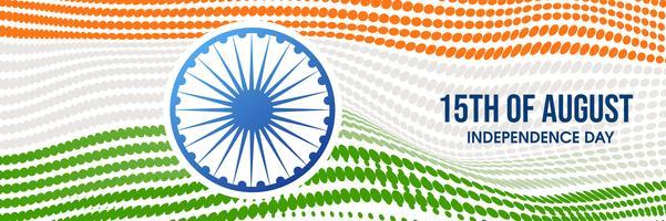 Bandeira nacional indiana cor de fundo grunge com roda de Ashoka vetor