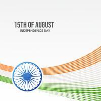 Projeto de plano de fundo para o dia da República da Índia vetor