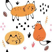 Padrão de raposa