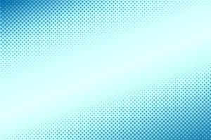 Estilo cômico meio-tom gradiente fundo azul vetor