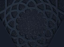 Fundo abstrato escuro com camadas sobrepostas pretas